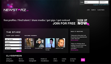 Newstarz Talent Community