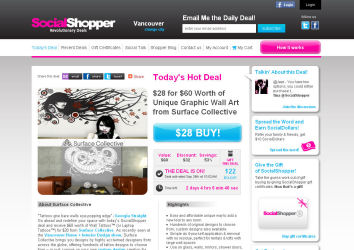 Social Shopper - Daily Deals