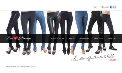 Luv u always leggings collections